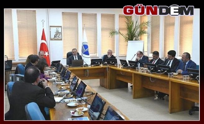 Rektör Çufalı, Batı Karadeniz Üniversiteler Birliği Toplantısına Katıldı
