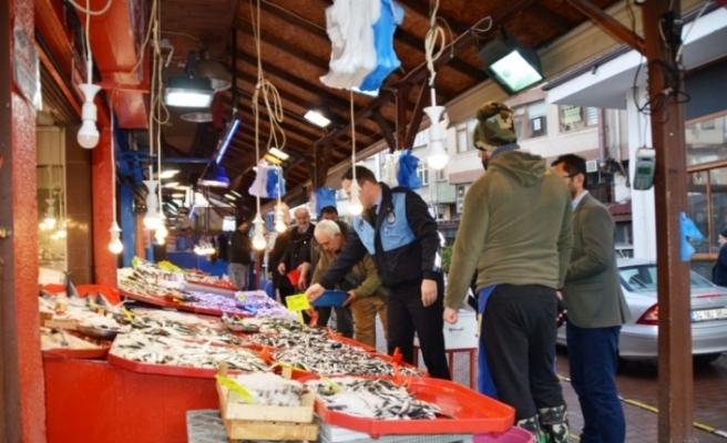 Safranbolu'da balıkçılar denetlendi