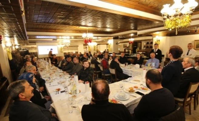 Safranbolu'da yılın son muhtarlar toplantısı yapıldı