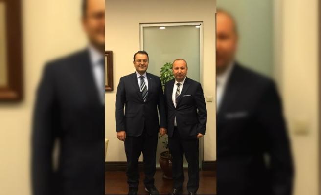 Ulupınar'dan Türkmenistan Büyükelçisi'ne ziyaret