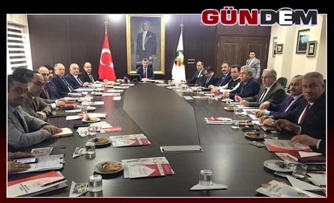 Vali Erdoğan Bektaş başkanlığında toplandı