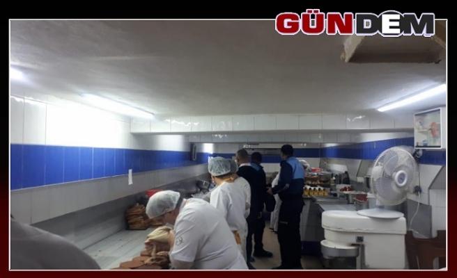 Zonguldak'ta pastanelere yılbaşı denetimi