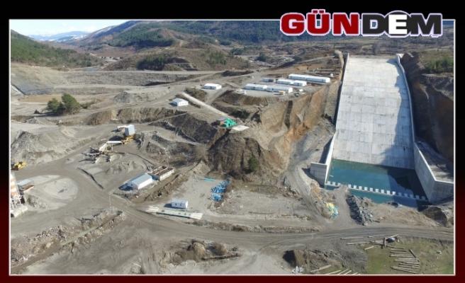 3 şehre hizmet verecek olan Araç Barajı tamamlanıyor...