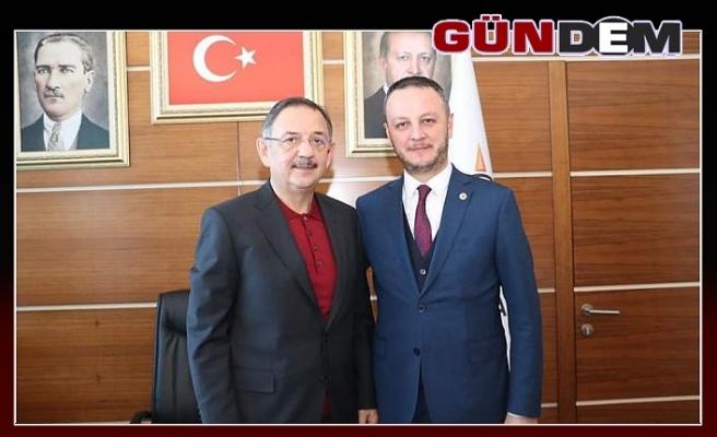 Alan, Genel Başkanı Yardımcısı Ozhaseki ile görüştü