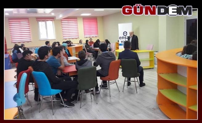 Bakanlık Müşaviri Taşçı Çaycuma'da seminer verdi