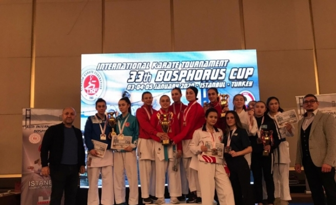 Bartın Üniversitesinin karatecileri 5 madalya ile döndü