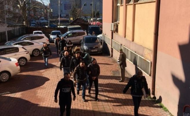 Zehir ticareti operasyonu: 5  tutuklama