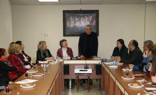 Başkan Bozkurt Kent Konseyi Üyeleri ile bir araya geldi