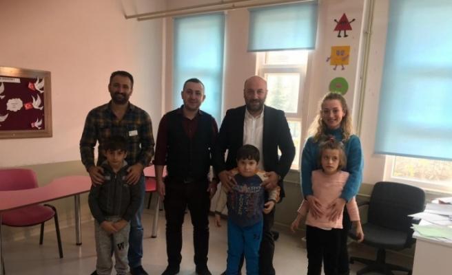 Başkan Yardımcısı Tuncer özel eğitim okulunu ziyaret etti
