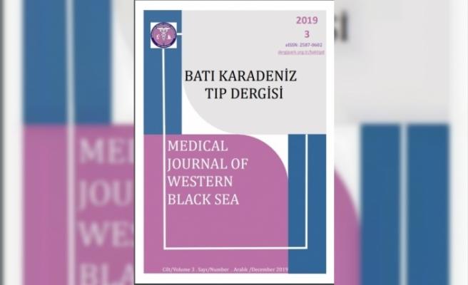 BEÜ Tıp Fakültesi 'Batı Karadeniz Tıp Dergisi'nin yeni sayısı yayınlandı