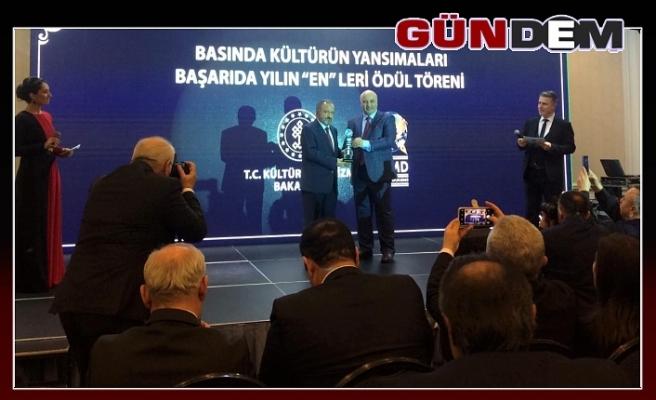 """BEÜ'ye 'Başarıda Yılın """"En""""leri Ödülü'"""