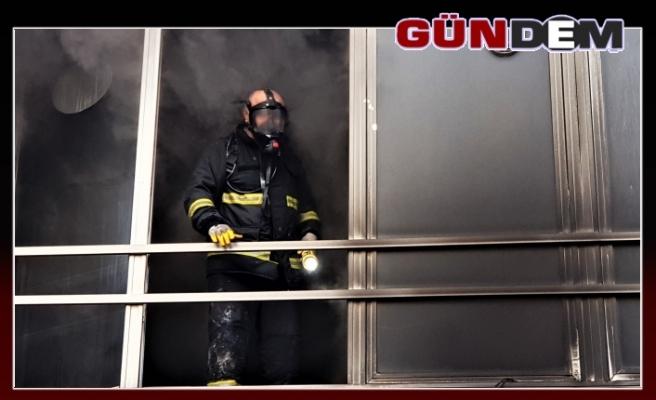 Elektronik eşya dükkanında yangın!..