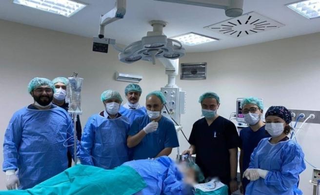 Karabük'te anestezi ile diş sağlığı hizmeti başladı
