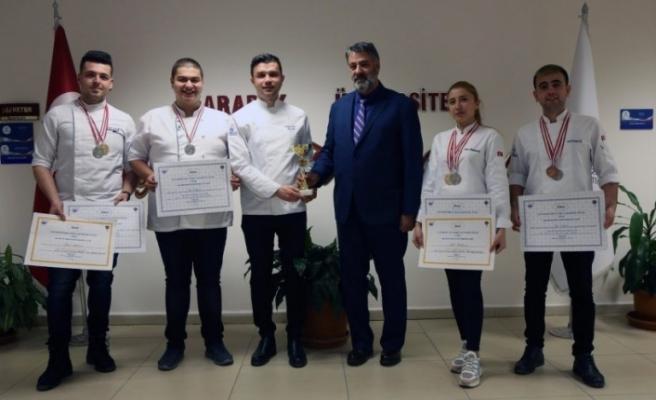 KBÜ'lü öğrenciler, Gastronomi Festivali'nden ödüllerle döndü