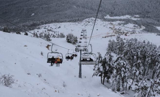 Keltepe Kayak Merkezine servisler başladı