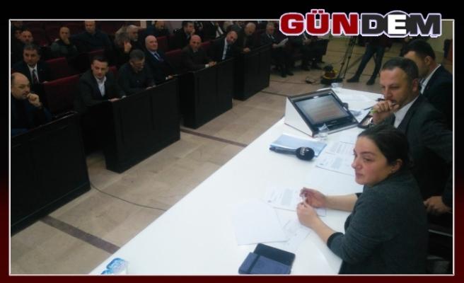 Meclis'te Denetim Komisyonu Seçimi Yapıldı
