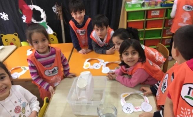 Öğrenciler enerji tasarrufunu öğrendi