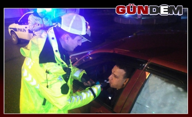 Polis ekiplerinden yılbaşı denetimi
