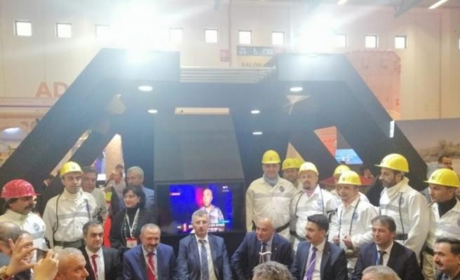 Rektör Çufalı, EMITT-2020 fuarına katıldı