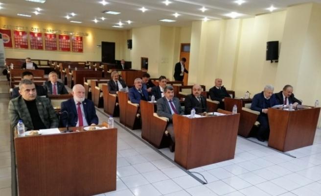 Yeni yılın ilk il genel meclis toplantısı yapıldı