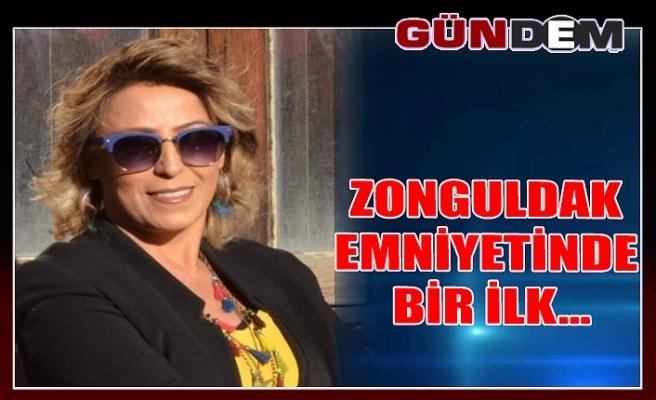 Zonguldak Emniyetinde bir ilk...