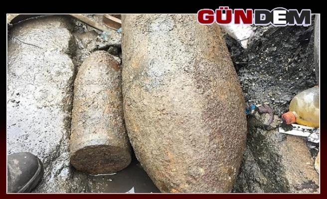Zonguldak'ta top mermisi bulundu...