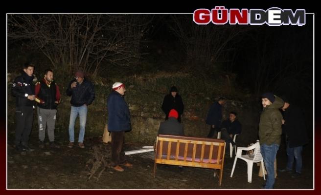 Zonguldak'ta heyelan: 3 ev boşaltıldı