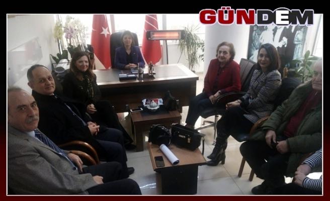 ADD, CHP'Yİ ZİYARET ETTİ...
