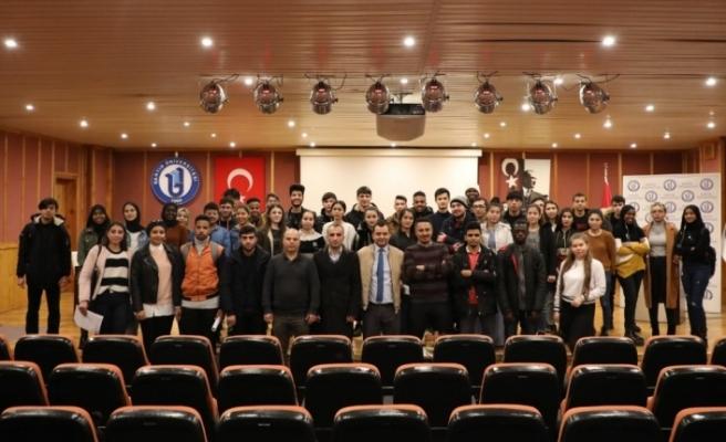 Bartın Üniversitesi'nde uluslararası öğrenciler için 'Uyum Etkinliği' düzenlendi