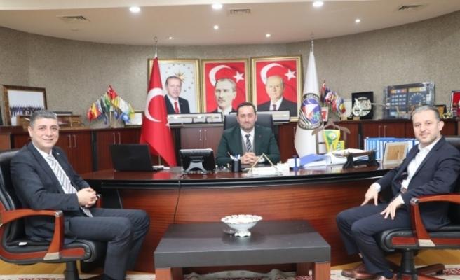 """Başkan Yanmaz """"İş birliği içerisinde çalışacağız"""""""