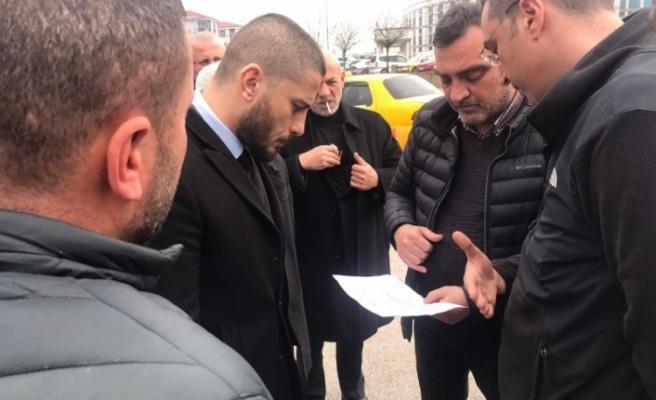 Başkan yardımcısı Kasapoğlu taksi esnafını dinledi