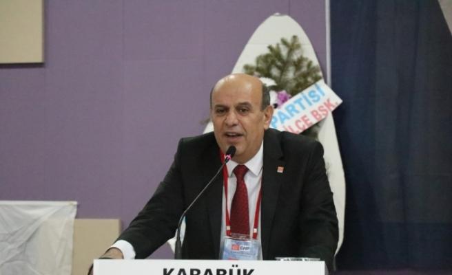 CHP Karabük İl Başkanlığına yeniden Çakır seçildi