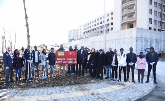Düzce Üniversitesi Ruandalı öğrencilerin buluşmasına ev sahipliği yaptı