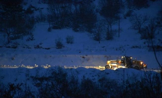 Karabük'te 135 köy yolu ulaşıma açıldı