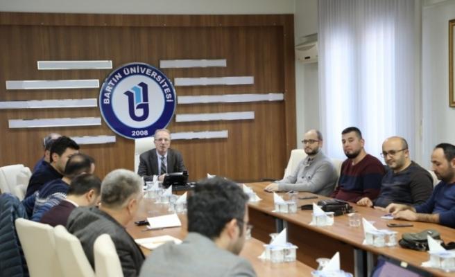 Odak bölümlerle 'ihtisaslaşma' toplantısı gerçekleştirildi
