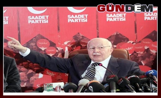 Saadet Partisi anma programlarını iptal etti