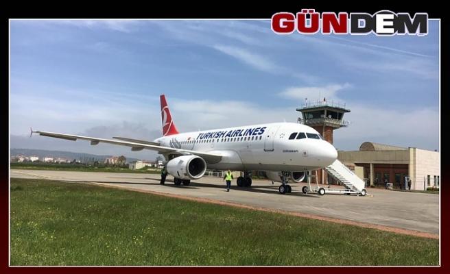 THY'nin İstanbul-Zonguldak uçuşu iptal!...