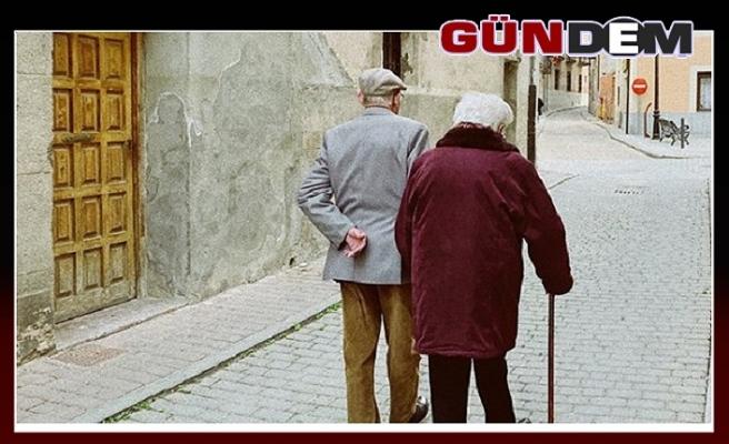 Yaşlı nüfusun en çok arttığı il Zonguldak oldu...