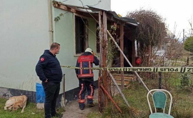 Yaşlı adamın evinde yanarak can vermesi ile ilgili tahkikat başlatıldı