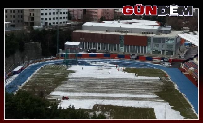Zonguldakspor'da Stat Temizleme Çalışmaları Başladı