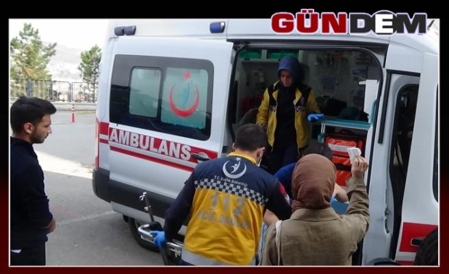 107 öğrenci hastaneye kaldırıldı...