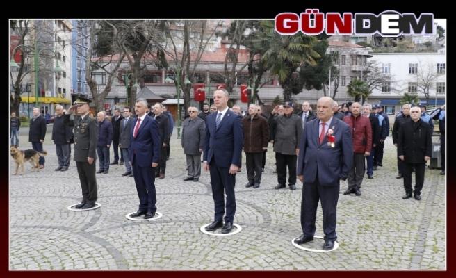 Çanakkale şehitleri Zonguldak'ta anıldı