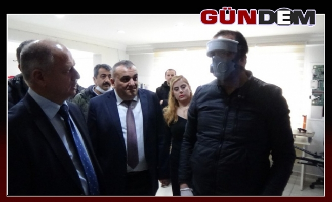 Çorumluoğlu BİLSEM'in maskelerini tanıttı...
