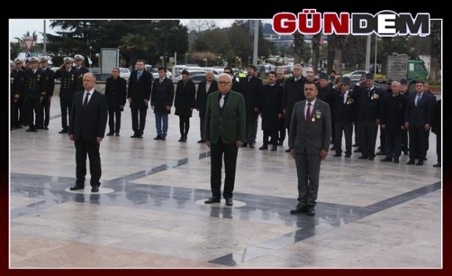 Ereğli'de Şehitleri Anma Günü Töreni Düzenlendi
