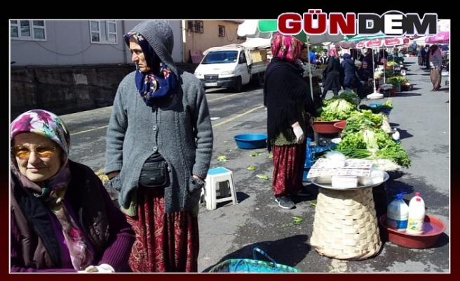 Ereğli'nin en büyük pazarında işler kesat!