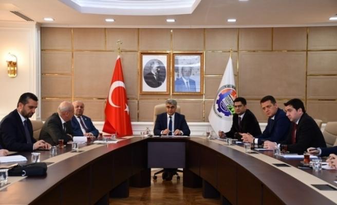 KÖYDES değerlendirme toplantısı Vali Gürel başkanlığında yapıldı