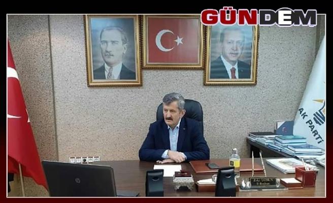 Tosun, telekonferans Toplantısına katıldı