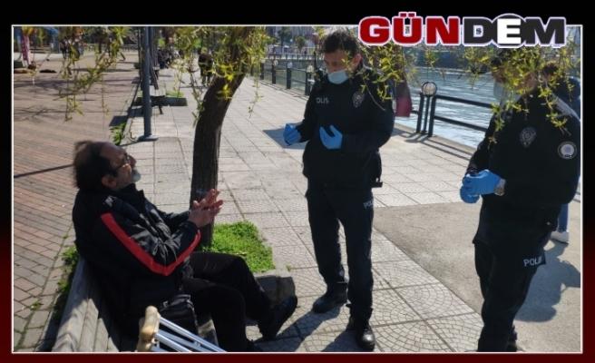 Zonguldak emniyeti yaşlıları bilgilendiriyor...