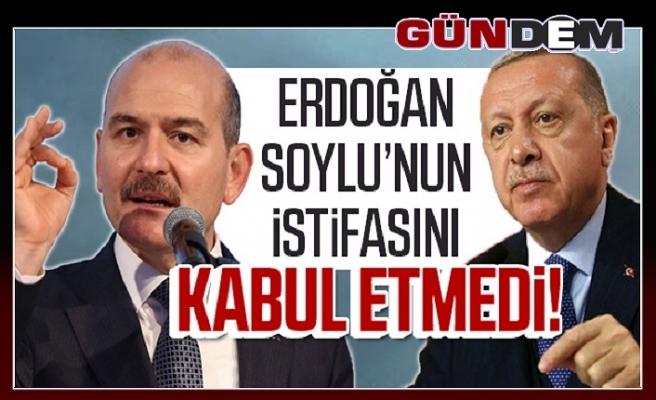 Bakan Soylu istifa etti, Başkan Erdoğan kabul etmedi
