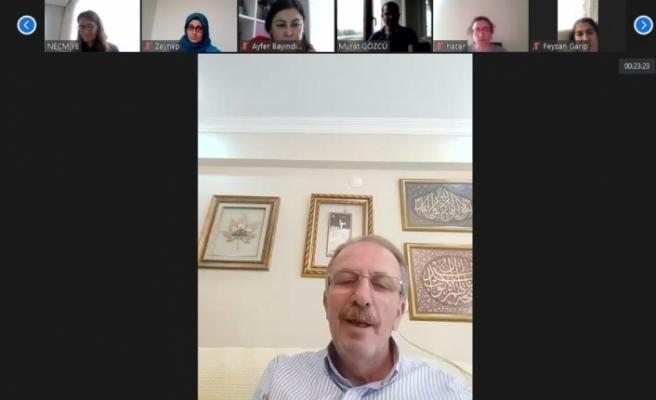 Bartın Üniversitesi ailesi 'dijital' bayramlaşmada bir araya geldi